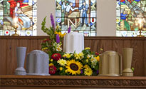 theft deterrent cemetery products, theft deterrent cemetery flower vase, theft deterrent urn, theft deterrent burial urn
